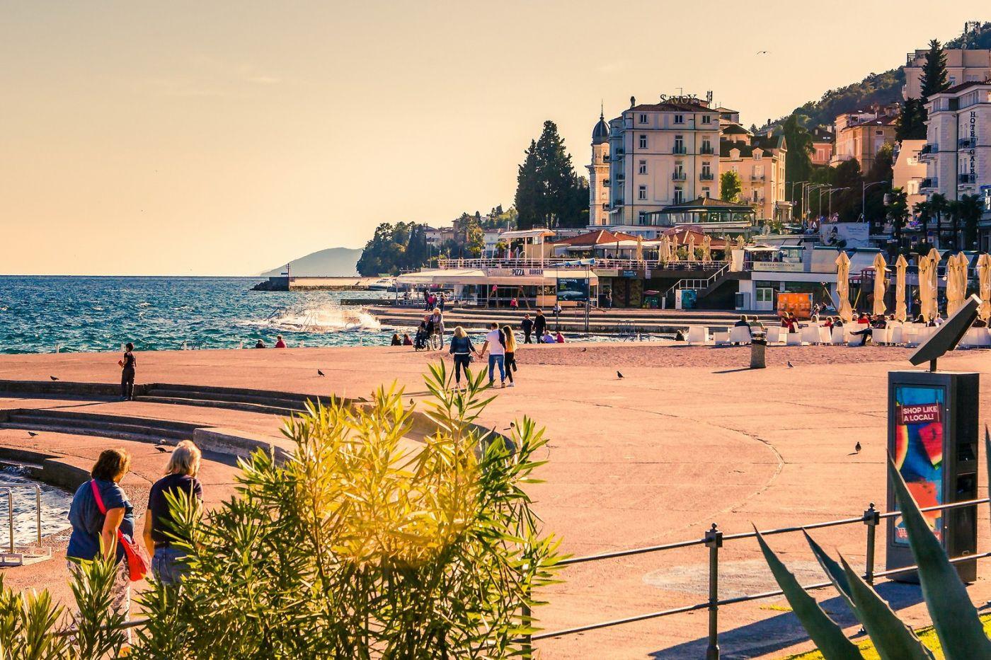 克罗地亚奥帕蒂亚(Opatija),洒满阳光的海滨城市_图1-27