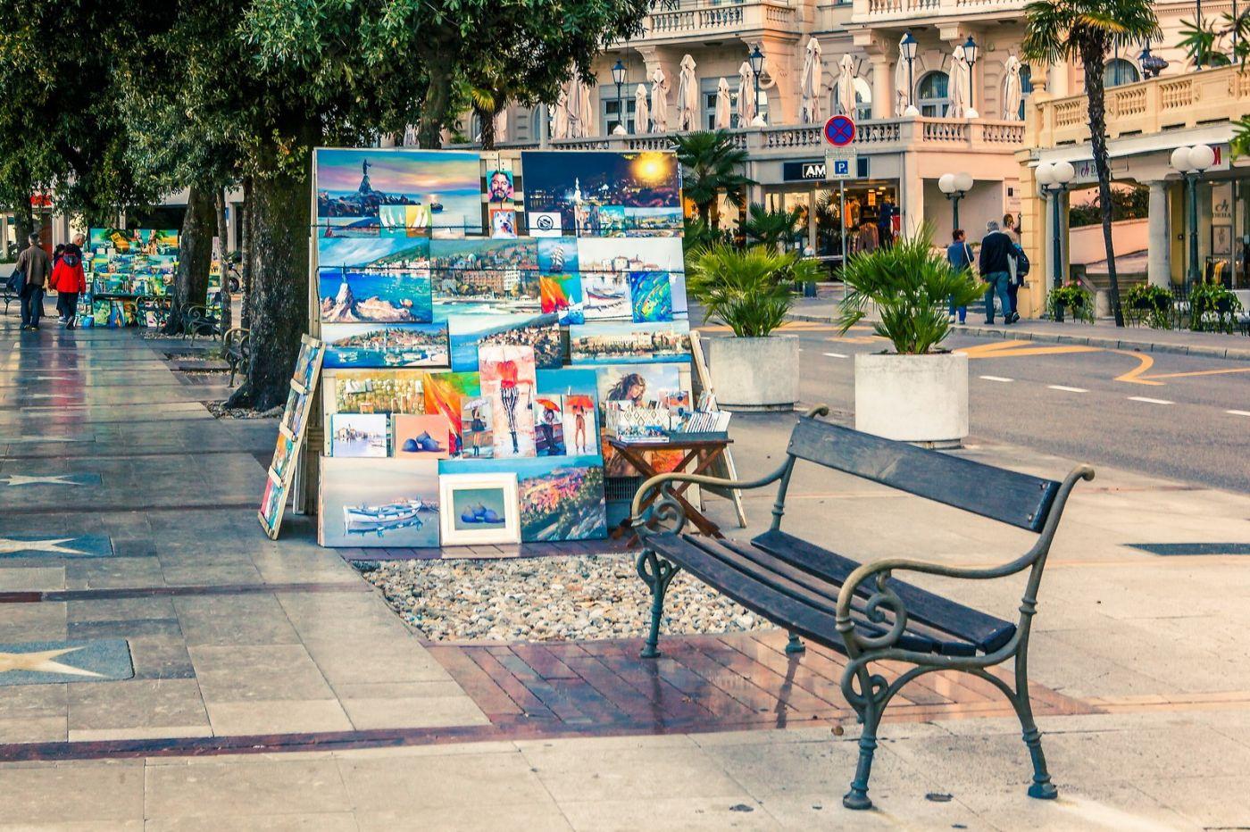 克罗地亚奥帕蒂亚(Opatija),洒满阳光的海滨城市_图1-28