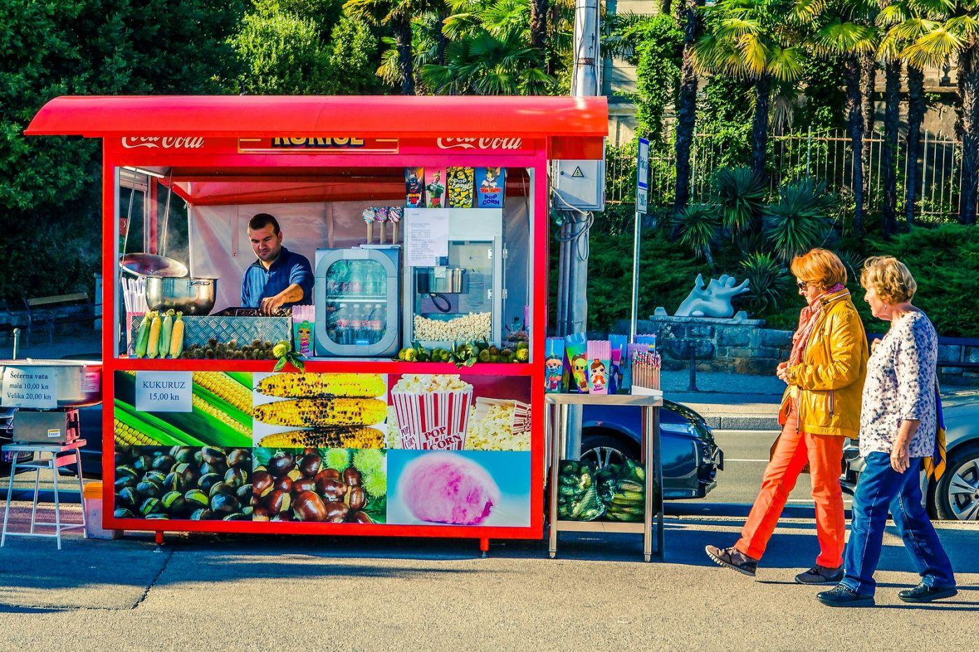 克罗地亚奥帕蒂亚(Opatija),洒满阳光的海滨城市_图1-32