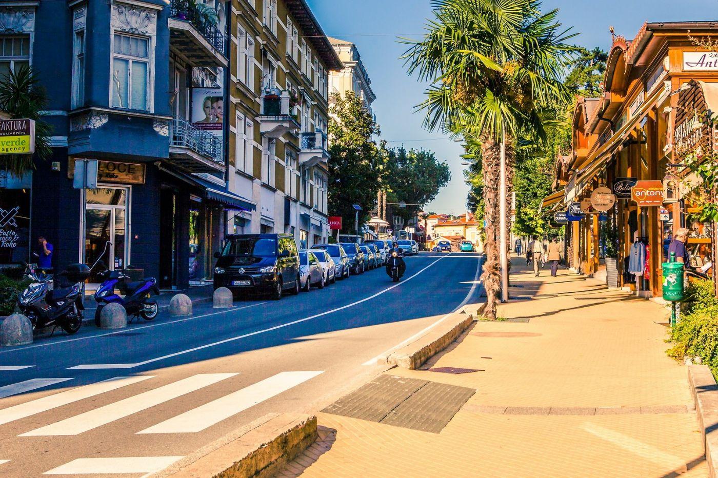 克罗地亚奥帕蒂亚(Opatija),洒满阳光的海滨城市_图1-33