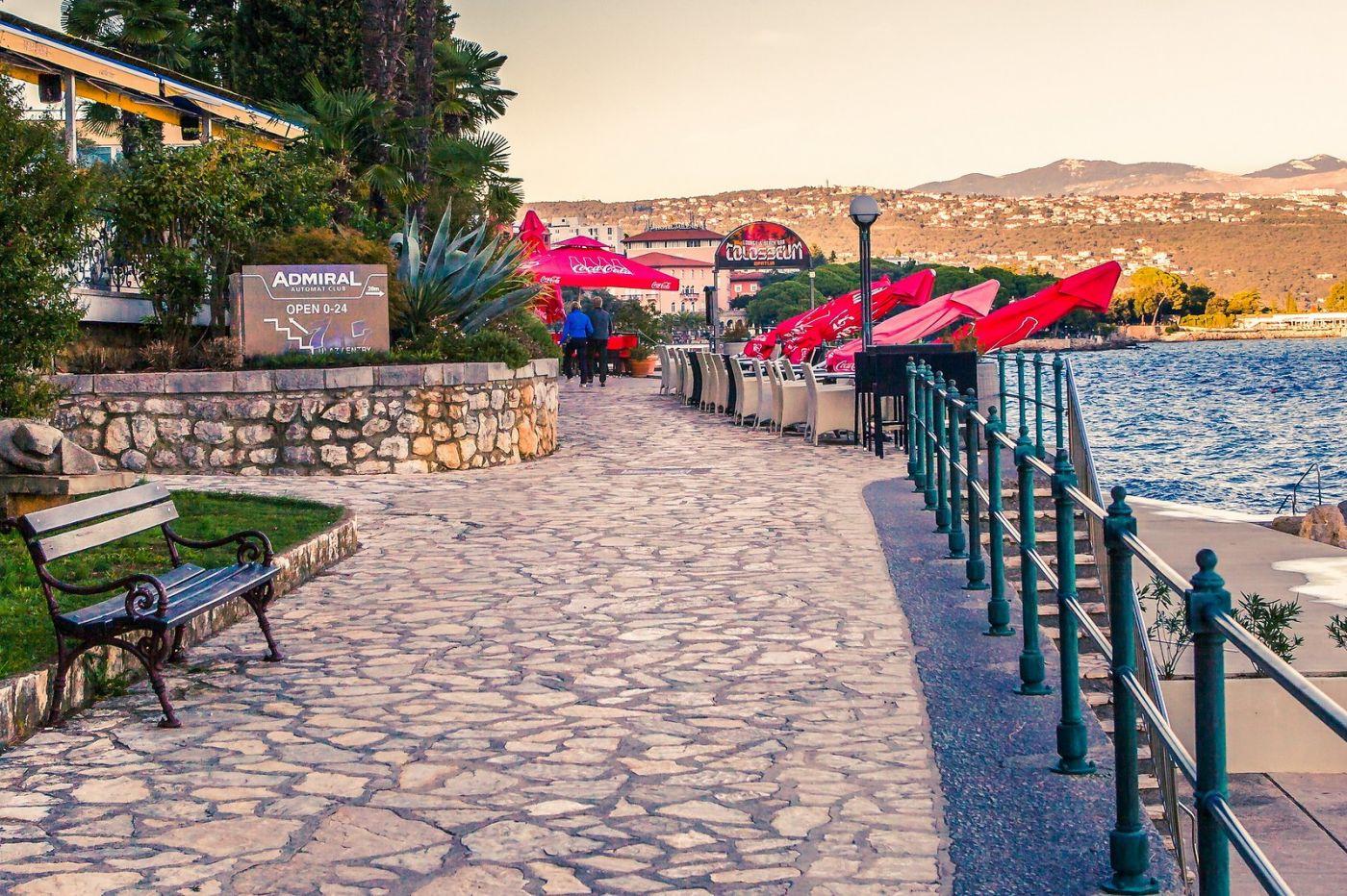 克罗地亚奥帕蒂亚(Opatija),洒满阳光的海滨城市_图1-35