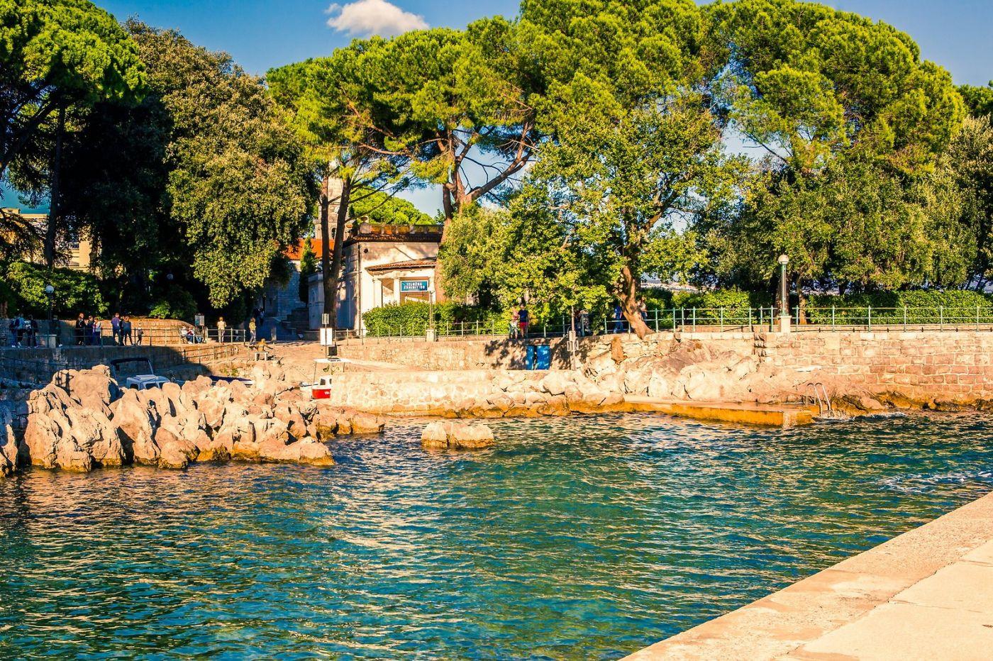 克罗地亚奥帕蒂亚(Opatija),洒满阳光的海滨城市_图1-36