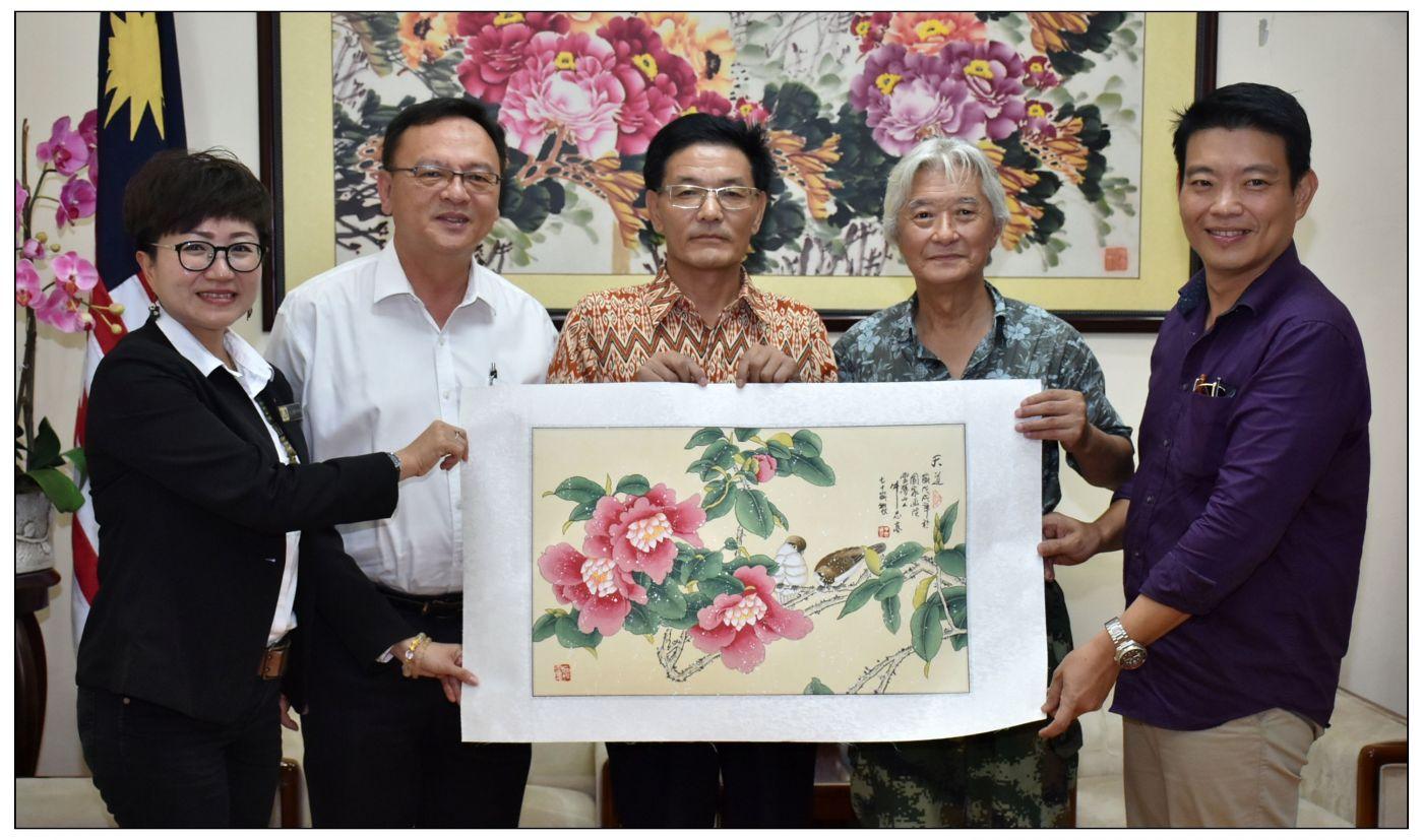 牛志高马来西亚画展掠影2019.10.01_图1-21