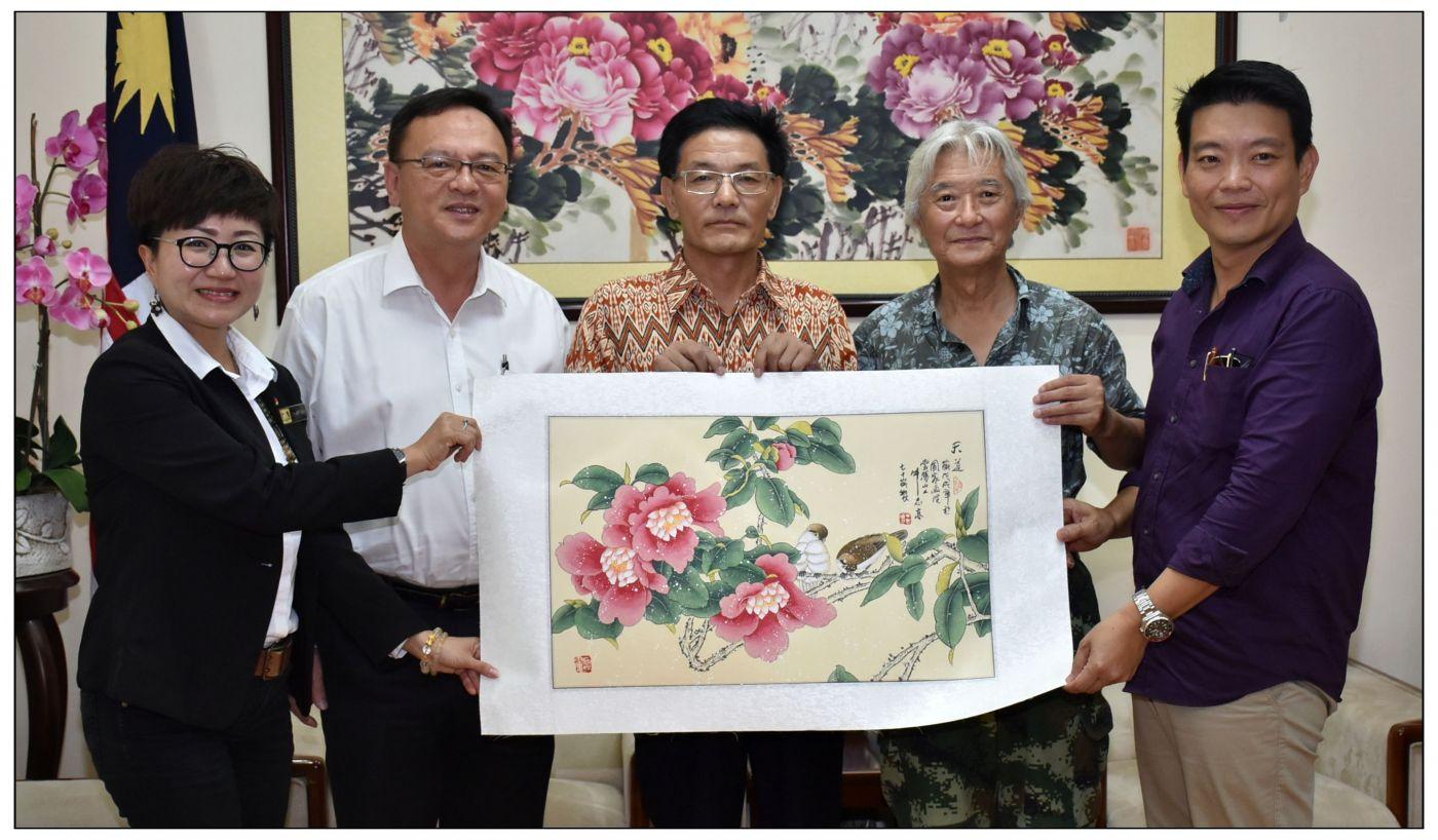 牛志高马来西亚画展掠影2019.10.01_图1-19