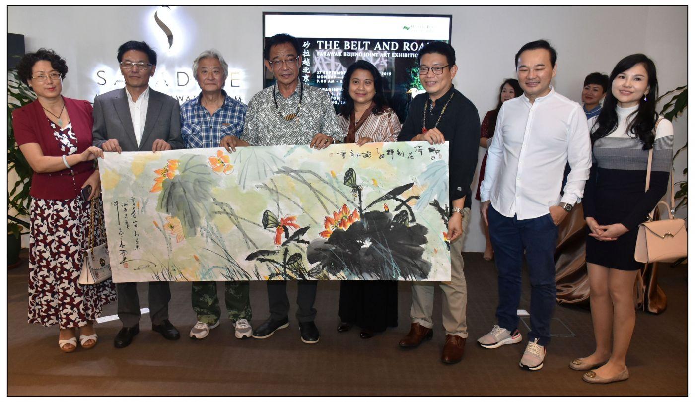 牛志高马来西亚画展掠影2019.10.01_图1-13