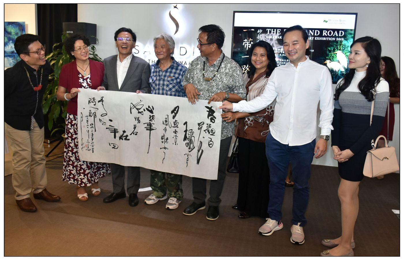 牛志高马来西亚画展掠影2019.10.01_图1-12