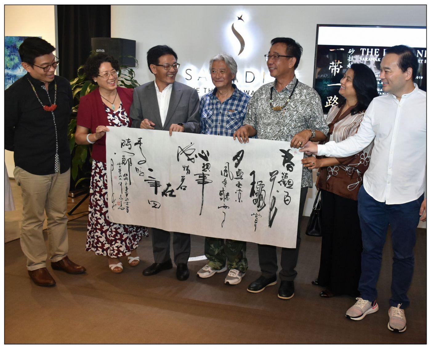 牛志高马来西亚画展掠影2019.10.01_图1-11