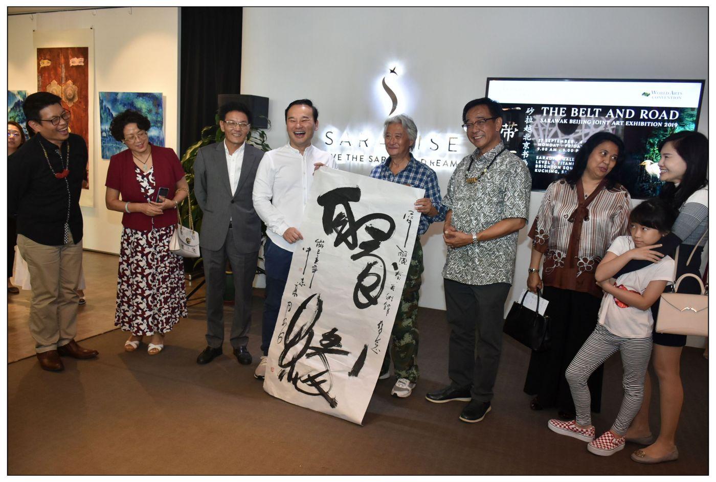 牛志高马来西亚画展掠影2019.10.01_图1-10