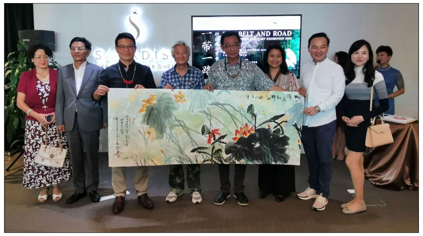 牛志高马来西亚画展掠影2019.10.01_图1-2