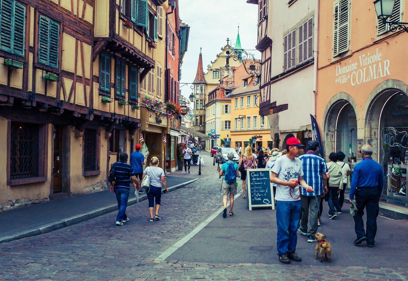法国科尔马(Colmar),街口路拍_图1-34