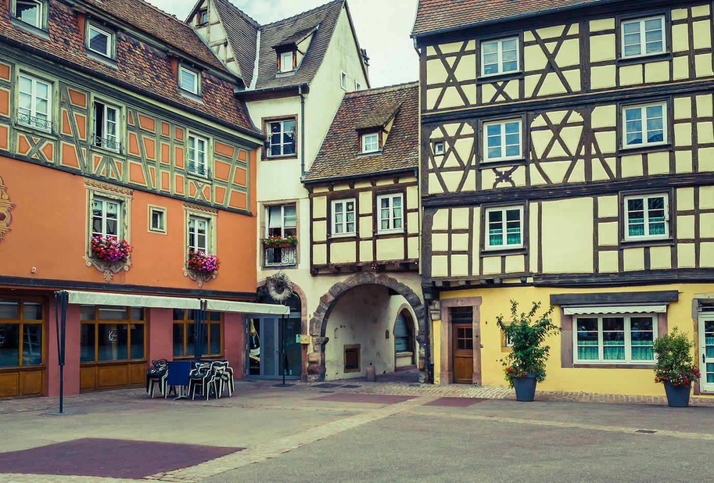 法国科尔马(Colmar),街口路拍_图1-35