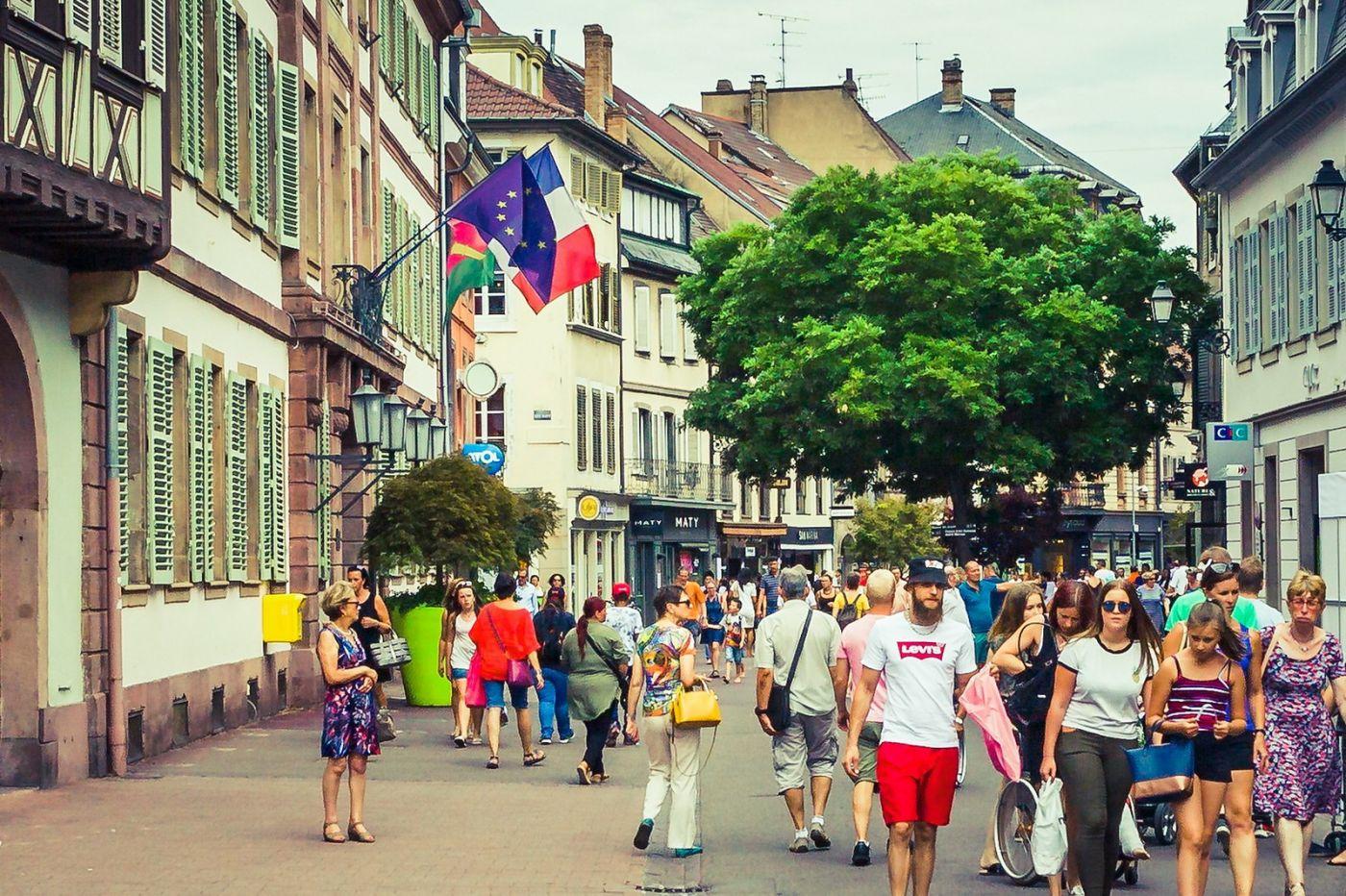 法国科尔马(Colmar),街口路拍_图1-31
