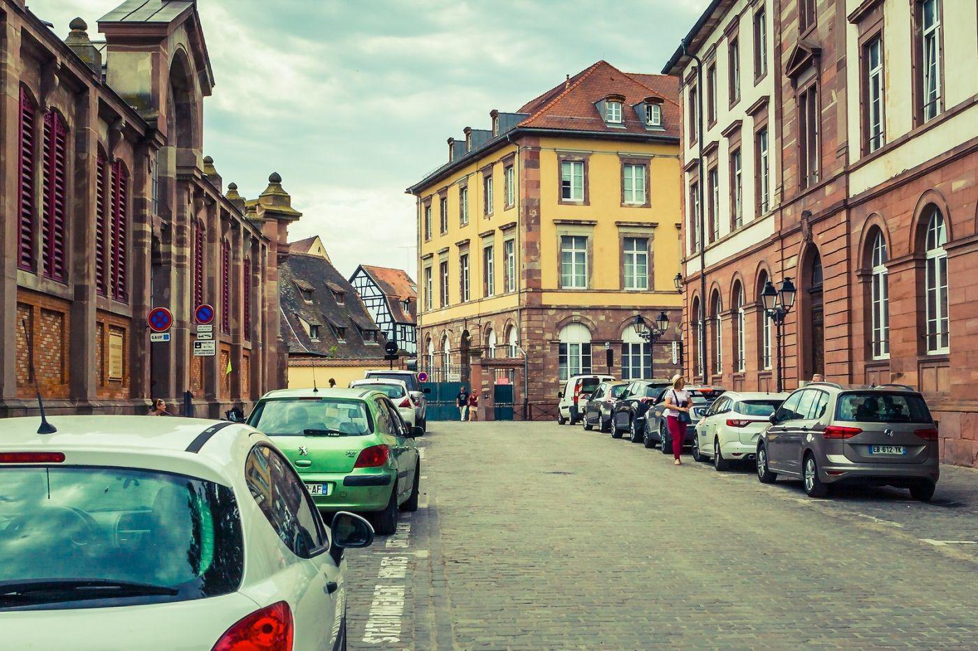 法国科尔马(Colmar),街口路拍_图1-33
