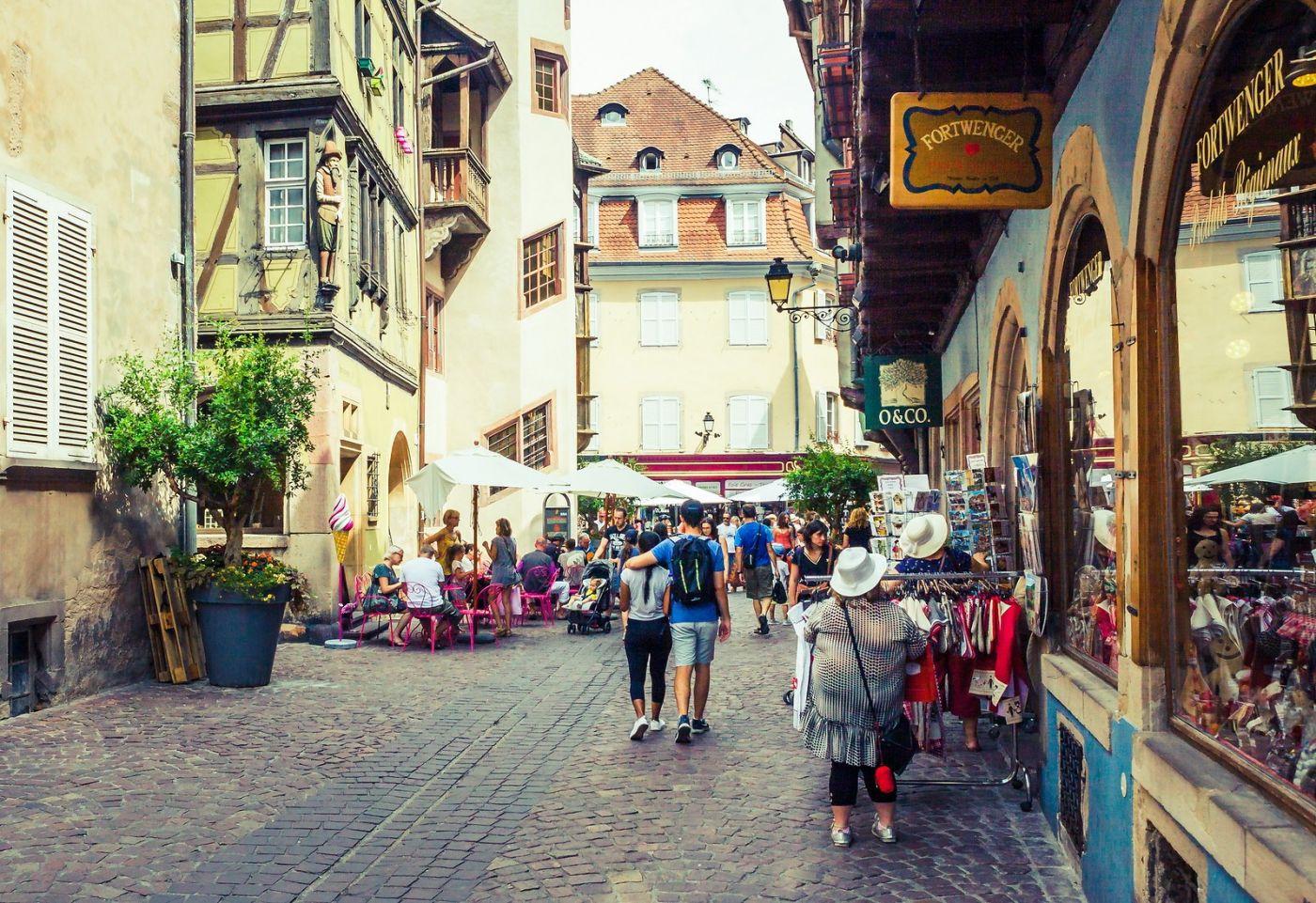 法国科尔马(Colmar),街口路拍_图1-29