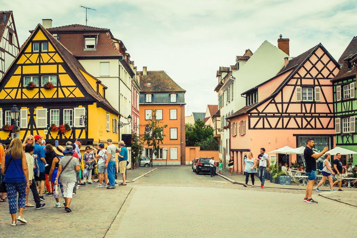 法国科尔马(Colmar),街口路拍_图1-32