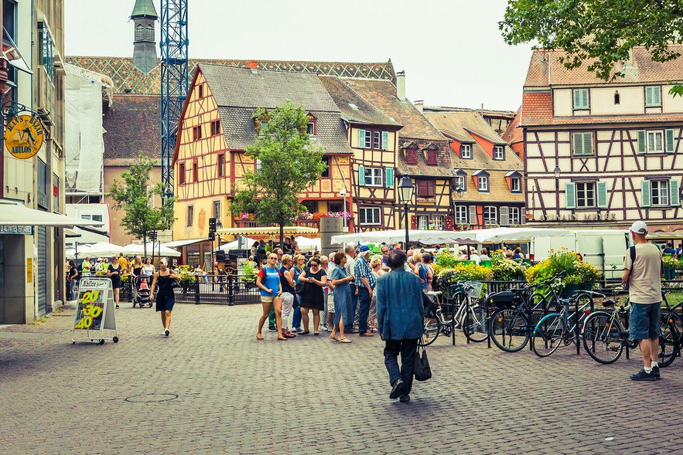 法国科尔马(Colmar),街口路拍_图1-25