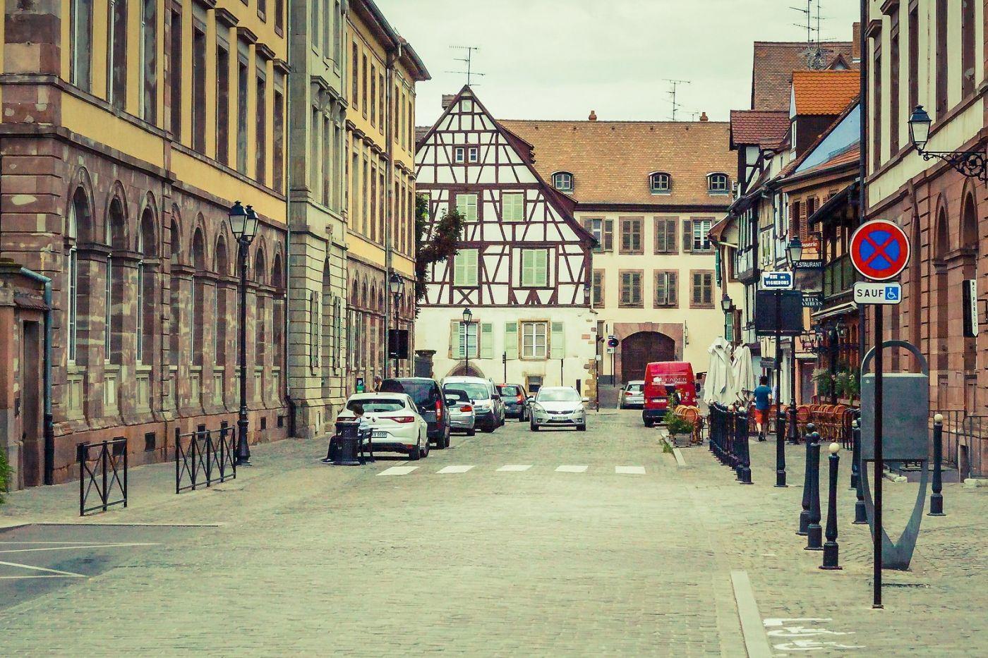 法国科尔马(Colmar),街口路拍_图1-27