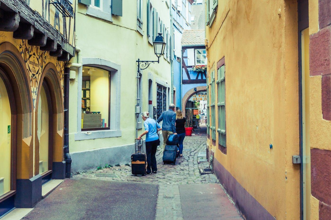 法国科尔马(Colmar),街口路拍_图1-28