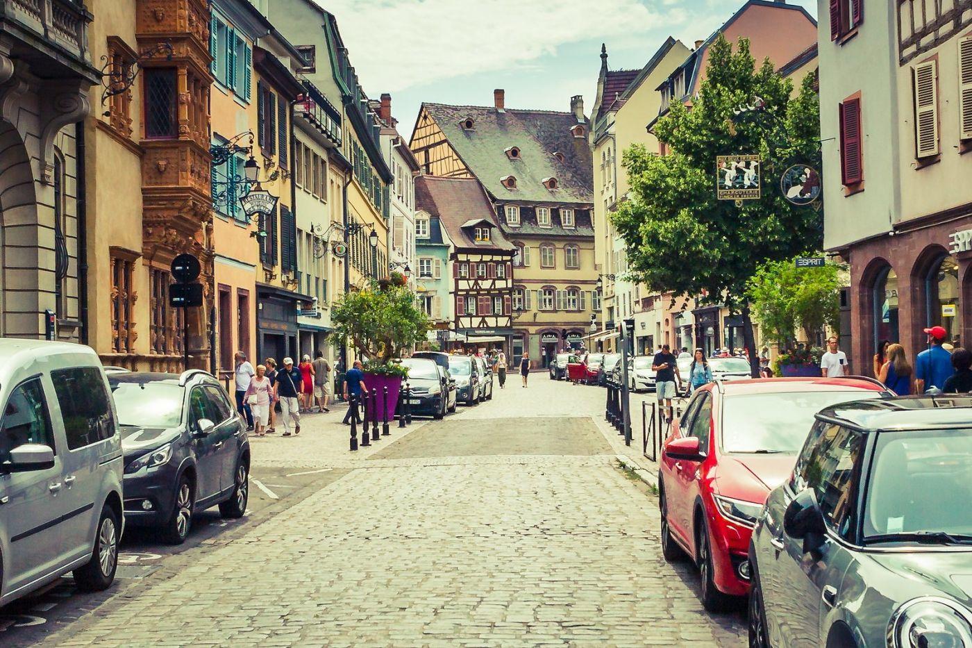 法国科尔马(Colmar),街口路拍_图1-22