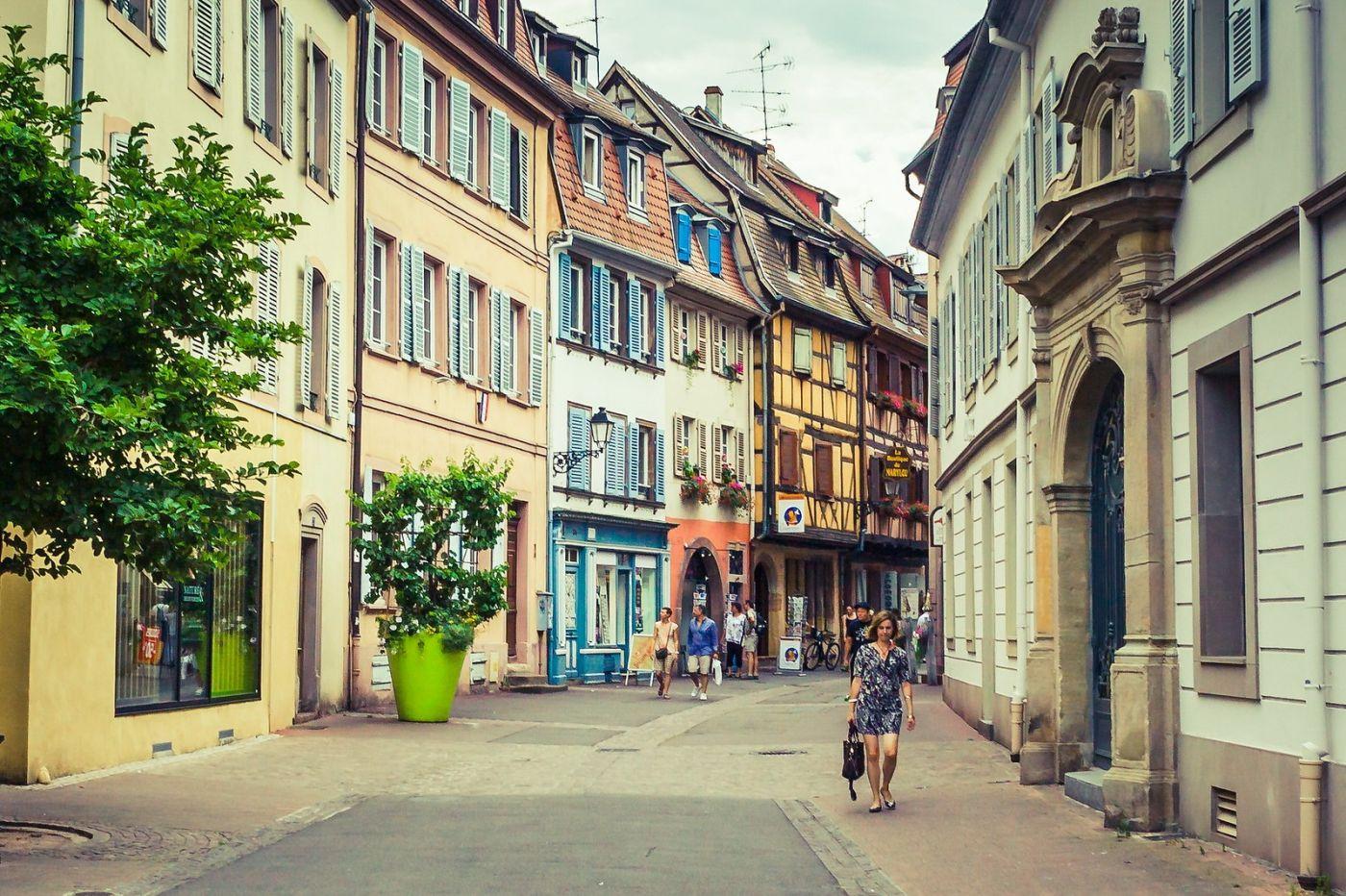 法国科尔马(Colmar),街口路拍_图1-17