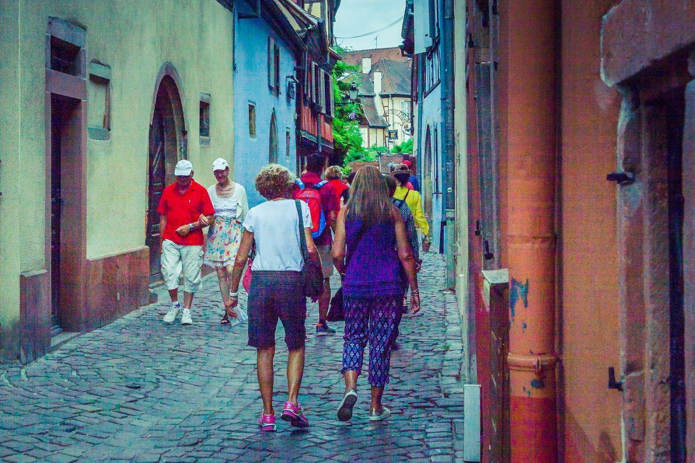 法国科尔马(Colmar),街口路拍_图1-20