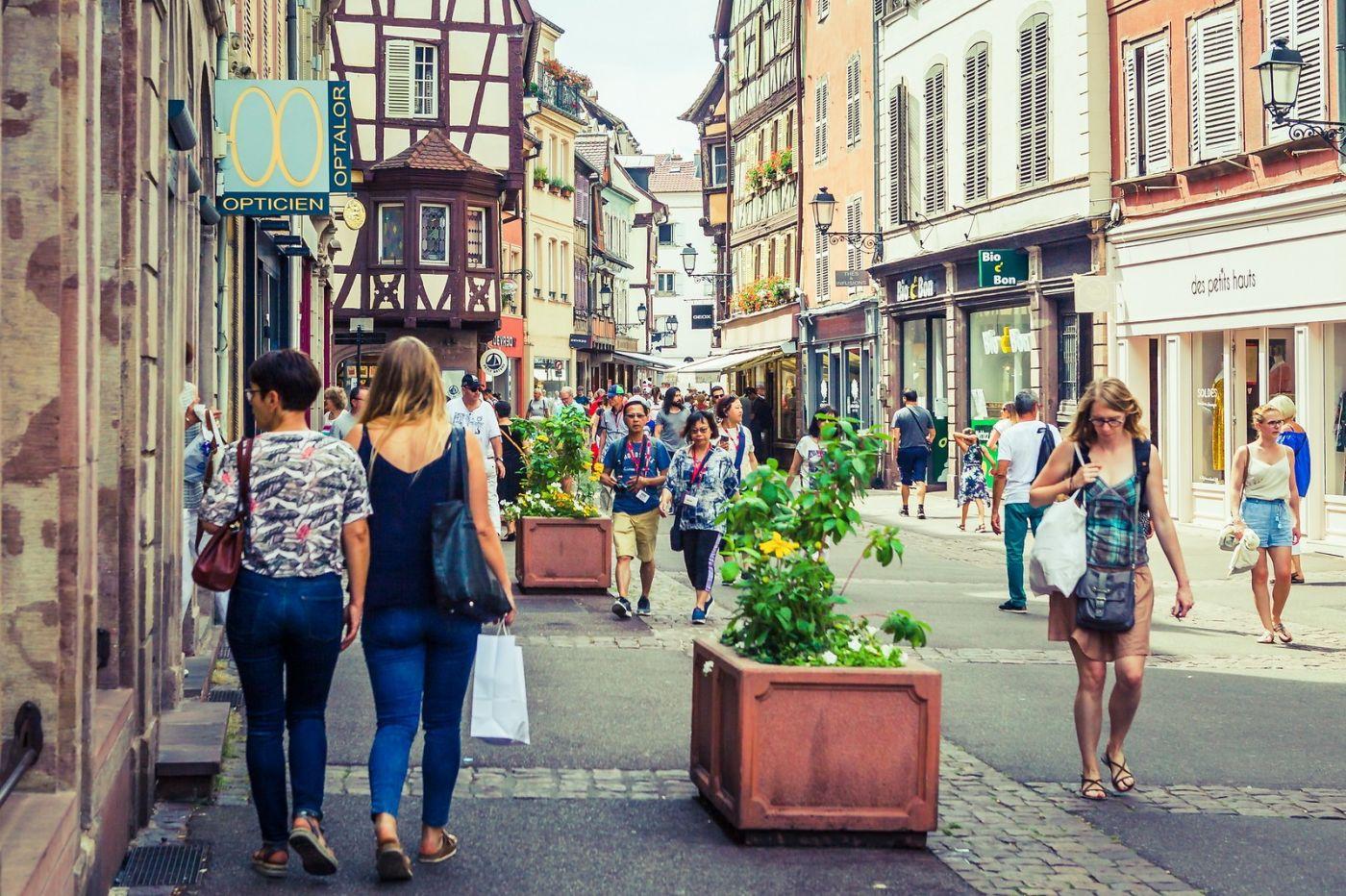 法国科尔马(Colmar),街口路拍_图1-6