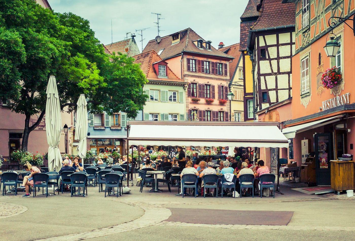 法国科尔马(Colmar),街口路拍_图1-9