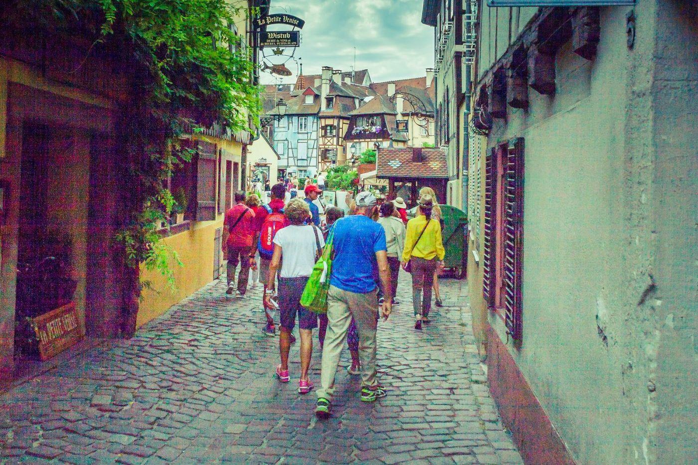 法国科尔马(Colmar),街口路拍_图1-13