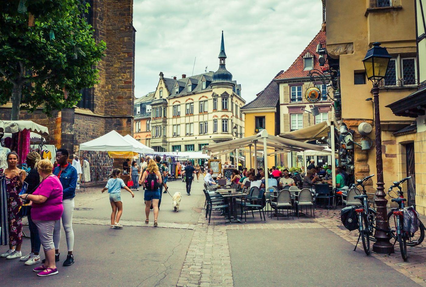 法国科尔马(Colmar),街口路拍_图1-14