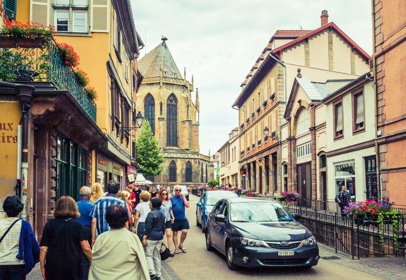 法国科尔马(Colmar),街口路拍_图1-16