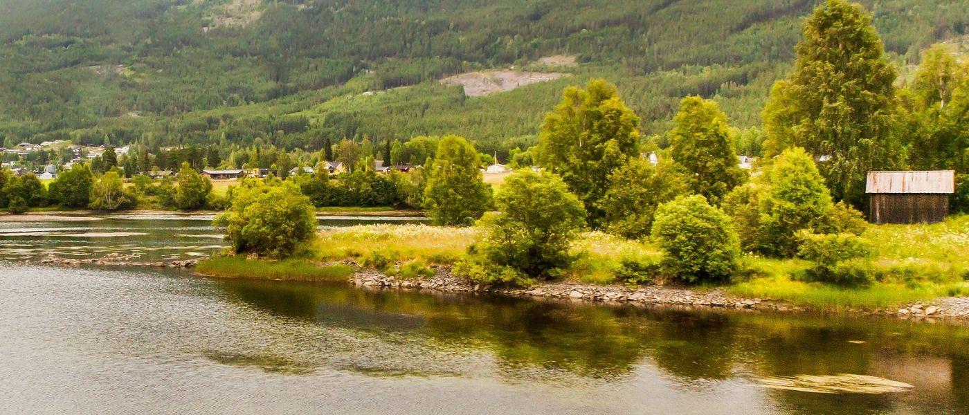 北欧风光,山间的别墅_图1-36