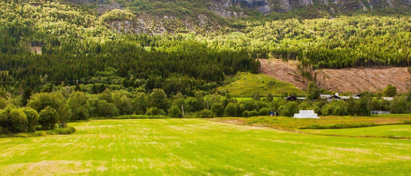 北欧风光,山间的别墅_图1-32