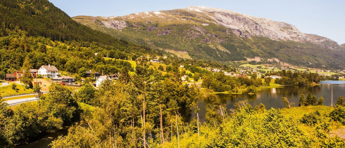 北欧风光,山间的别墅_图1-31