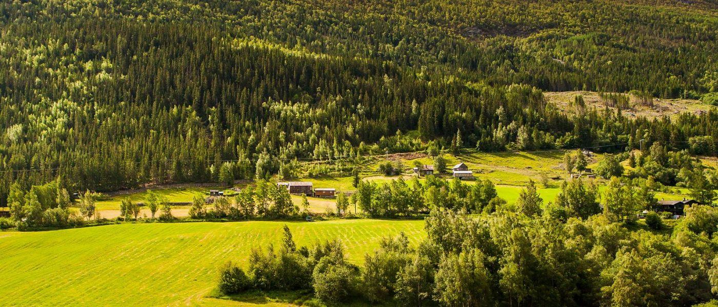 北欧风光,山间的别墅_图1-29