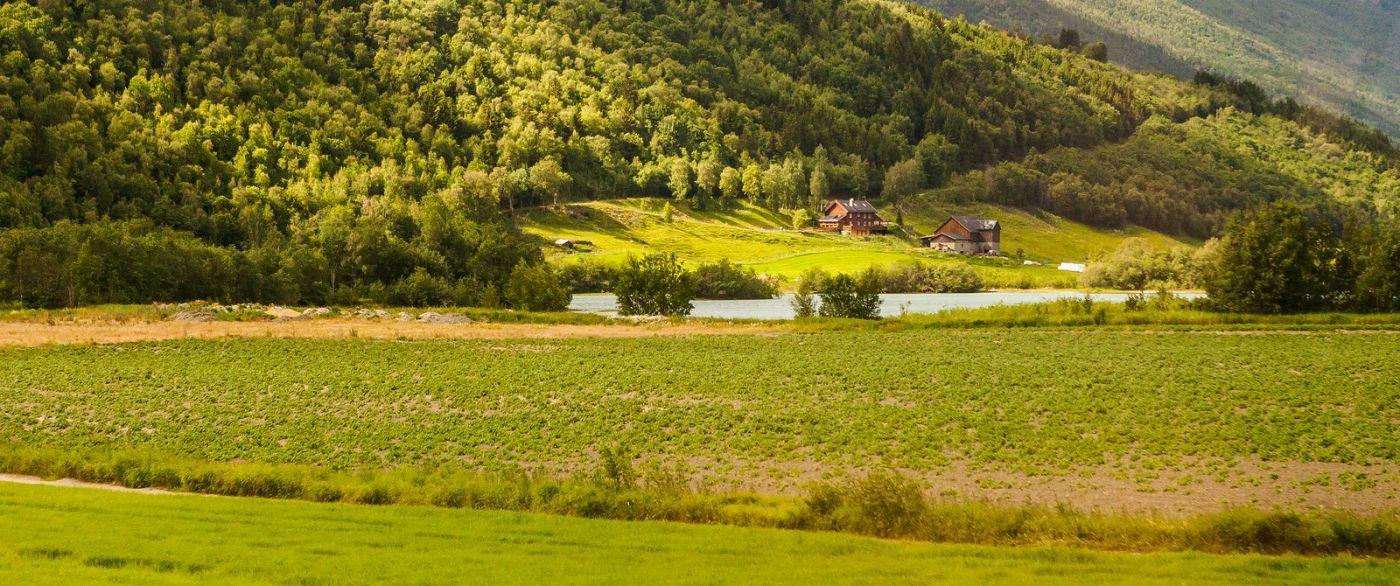 北欧风光,山间的别墅_图1-26