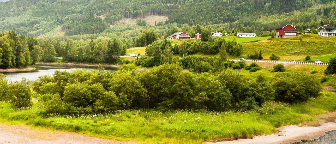 北欧风光,山间的别墅_图1-22