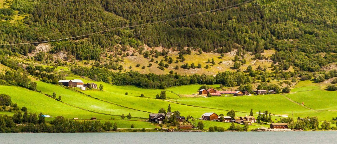 北欧风光,山间的别墅_图1-2