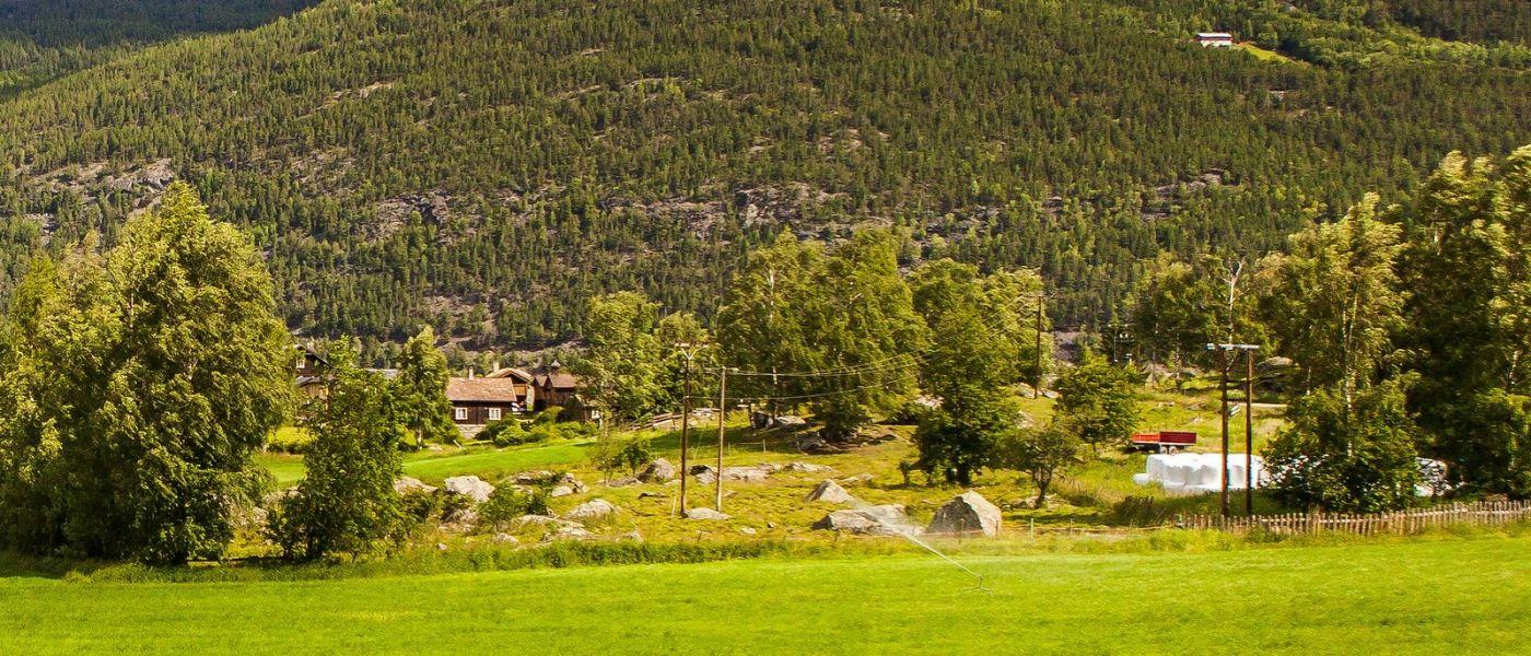 北欧风光,山间的别墅_图1-8