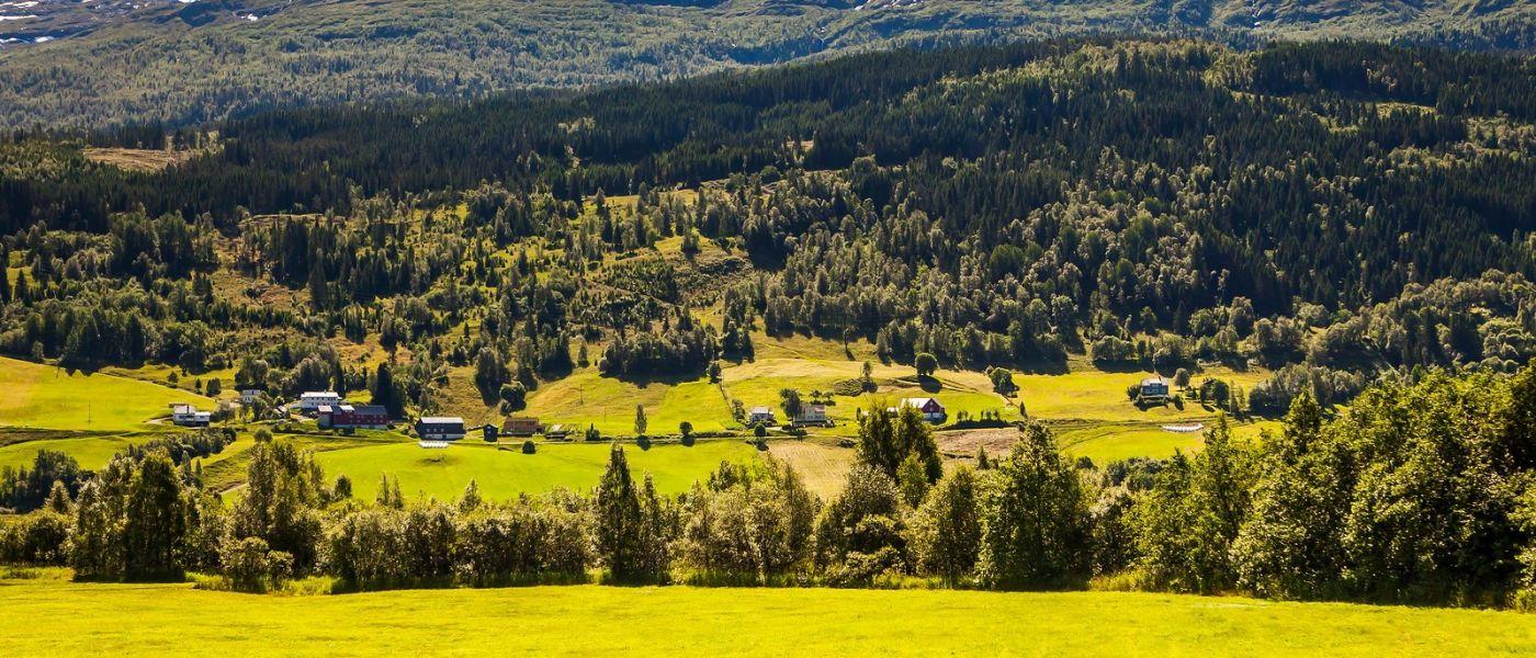 北欧风光,山间的别墅_图1-5