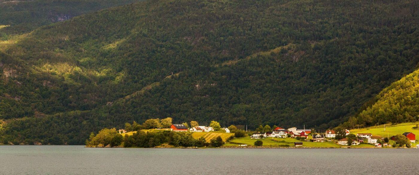 北欧风光,山间的别墅_图1-13