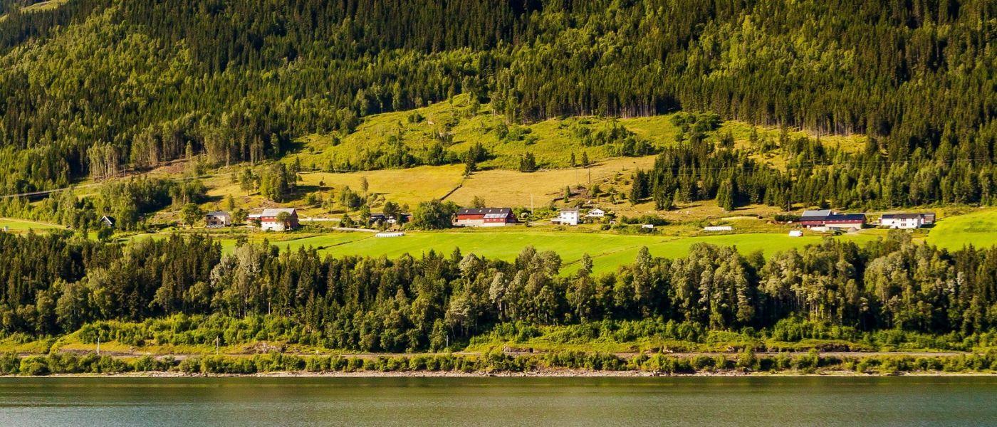 北欧风光,山间的别墅_图1-14