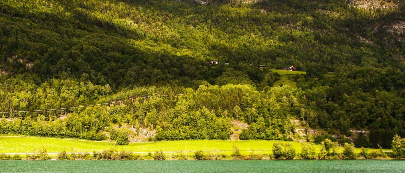 北欧风光,山间的别墅_图1-15