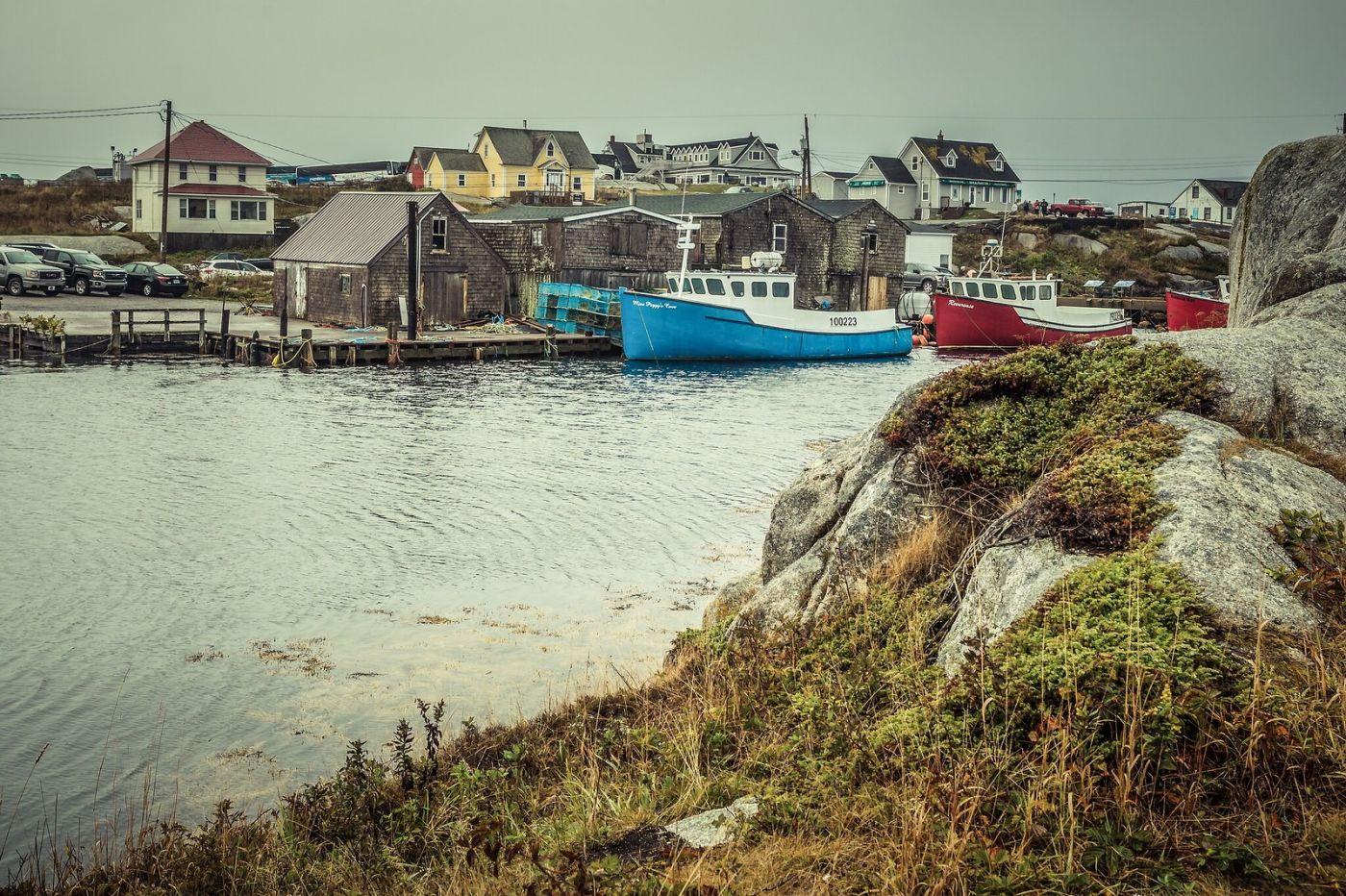 加拿大佩吉海湾(Peggys Cove),小鱼港见闻_图1-9