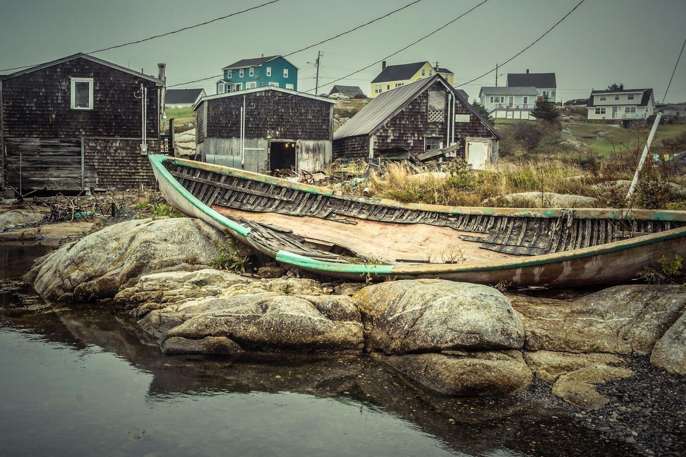 加拿大佩吉海湾(Peggys Cove),小鱼港见闻_图1-12