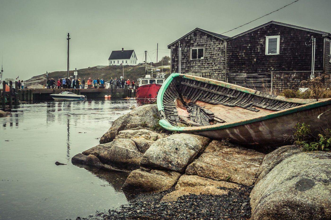 加拿大佩吉海湾(Peggys Cove),小鱼港见闻_图1-8