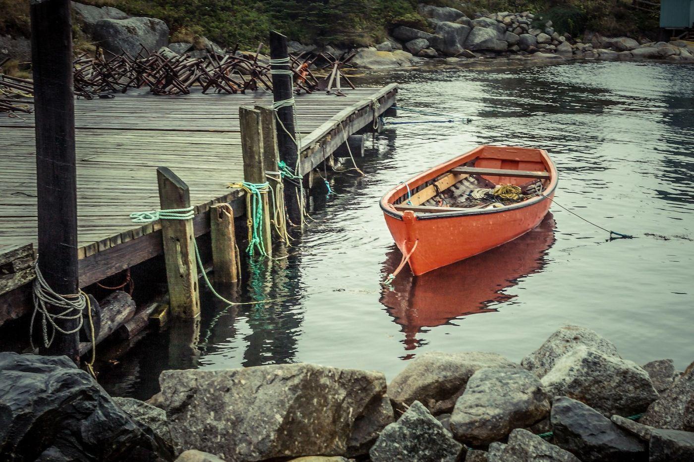 加拿大佩吉海湾(Peggys Cove),小鱼港见闻_图1-5