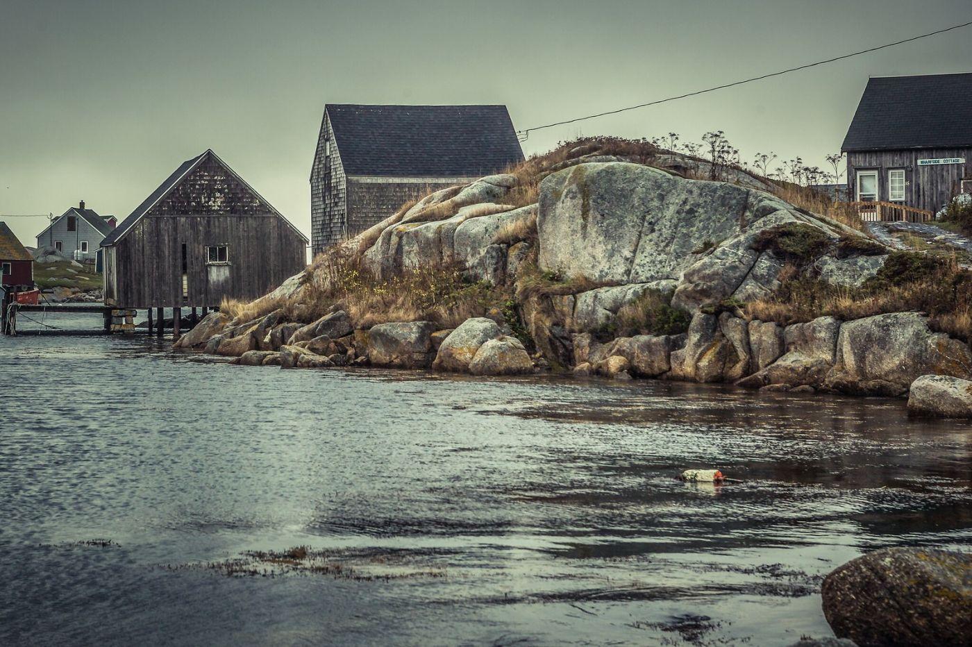 加拿大佩吉海湾(Peggys Cove),小鱼港见闻_图1-7