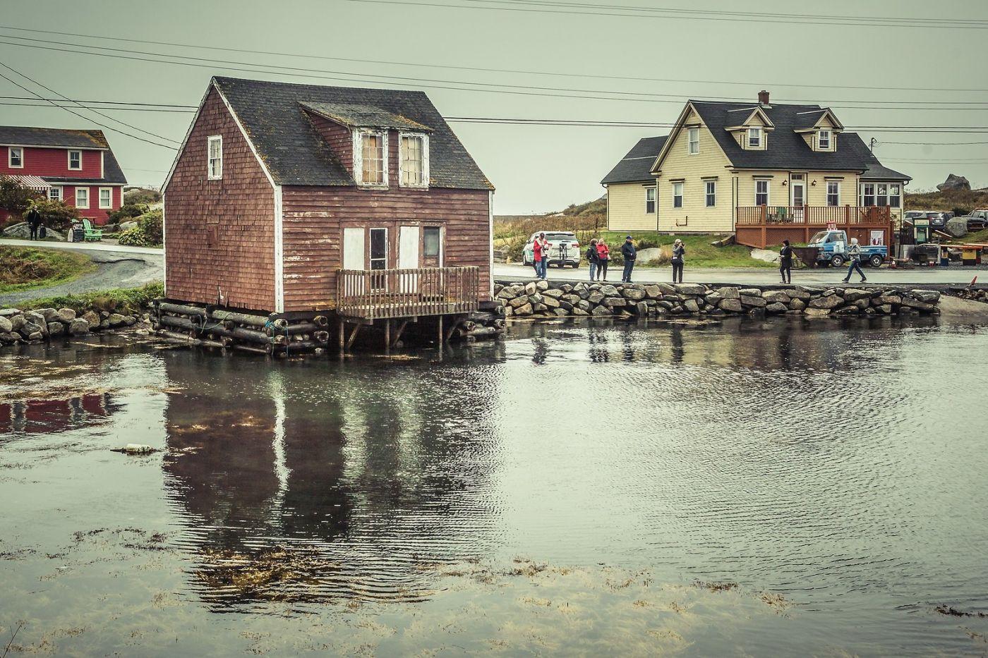 加拿大佩吉海湾(Peggys Cove),小鱼港见闻_图1-6