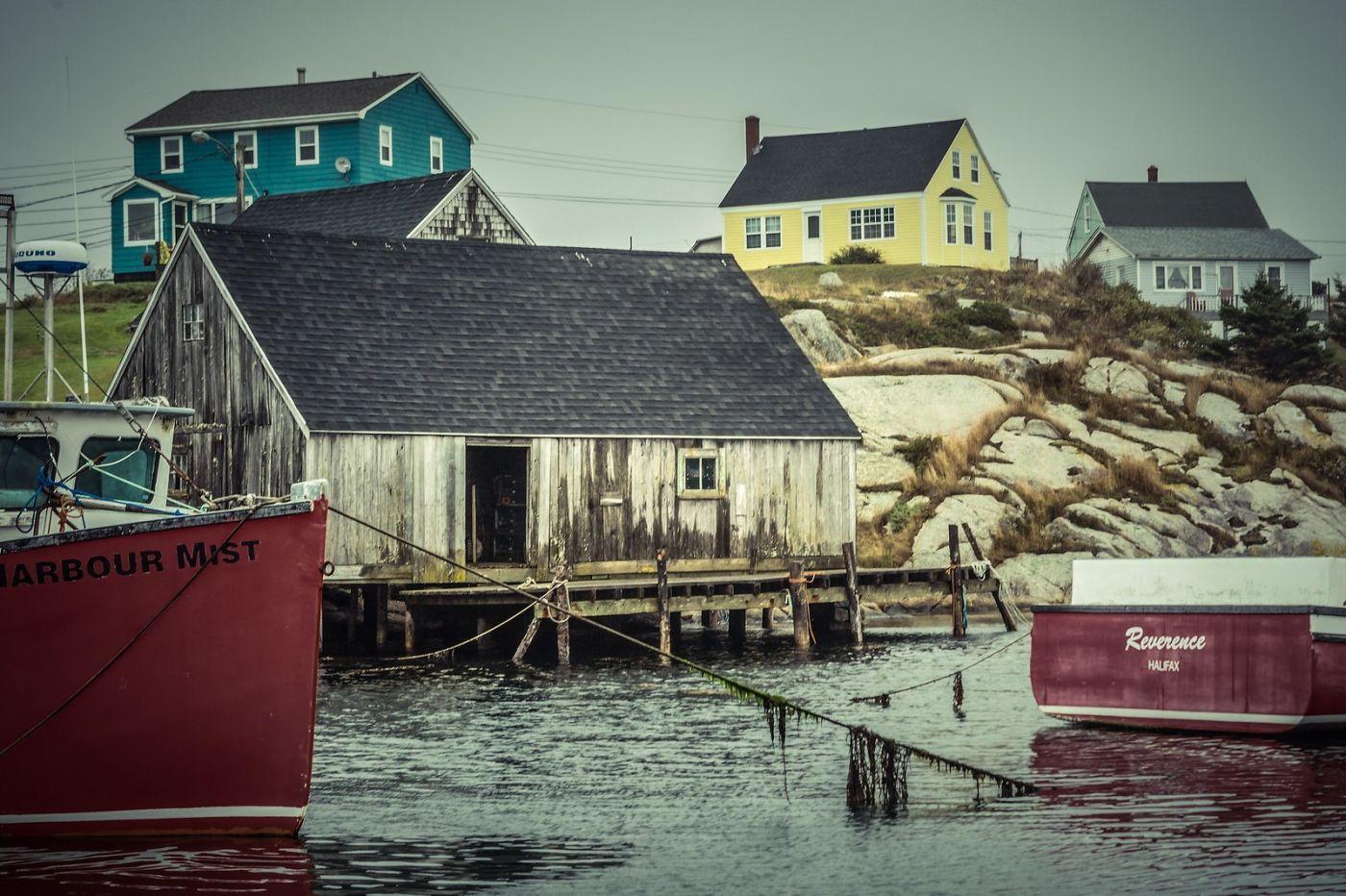 加拿大佩吉海湾(Peggys Cove),小鱼港见闻_图1-14