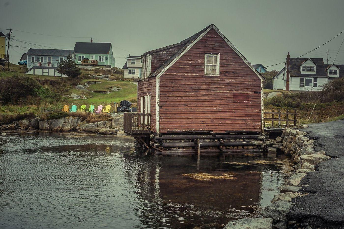 加拿大佩吉海湾(Peggys Cove),小鱼港见闻_图1-15